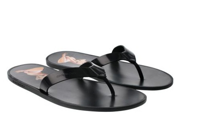 Givenchy Pin-Up Flip Flops