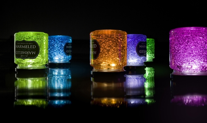 Marmeled Jelly Lamp