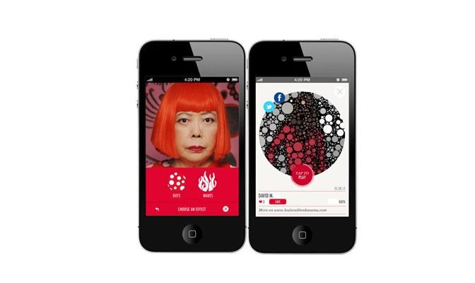 Louis Vuitton-Yayoi Kusama iPhone App