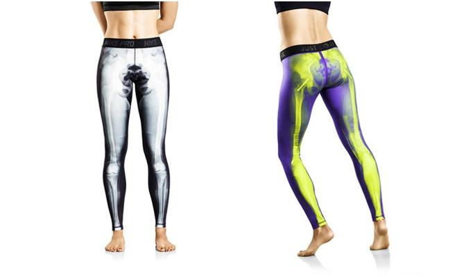 Nike Women's X-Ray Bone Tights