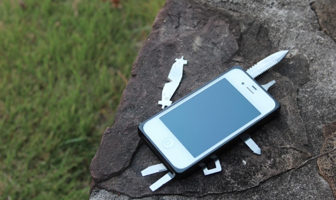 TaskOne, multi-tool case for iPhone