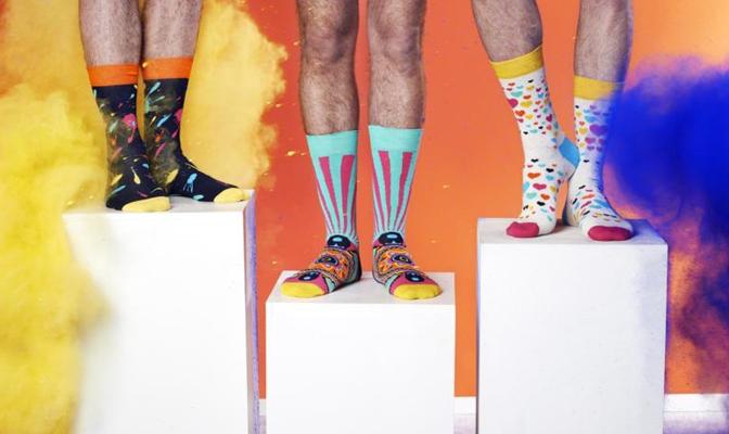 Happy Socks x Manish Arora