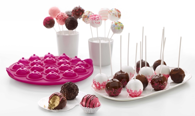 Cake Pops by Lékué