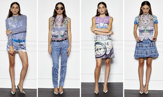 Mary Katrantzou x Current Elliott