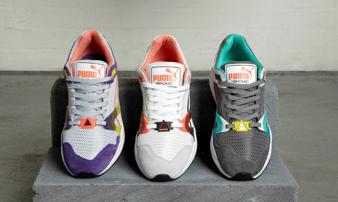 Puma Trinomic, back to the 90's!