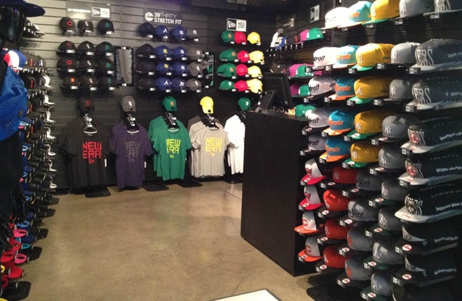 Pop Up Store by New Era