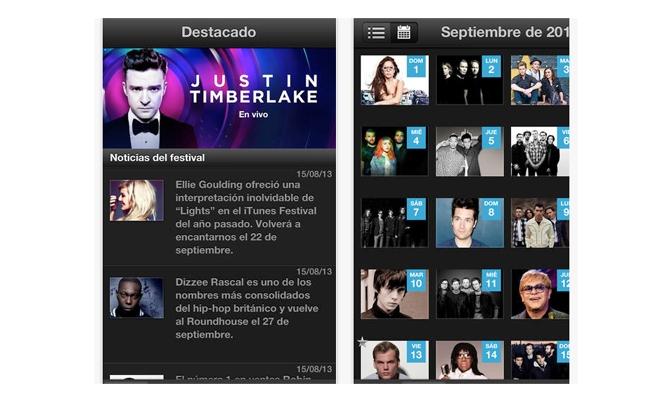 iTunes Festival 2013 App