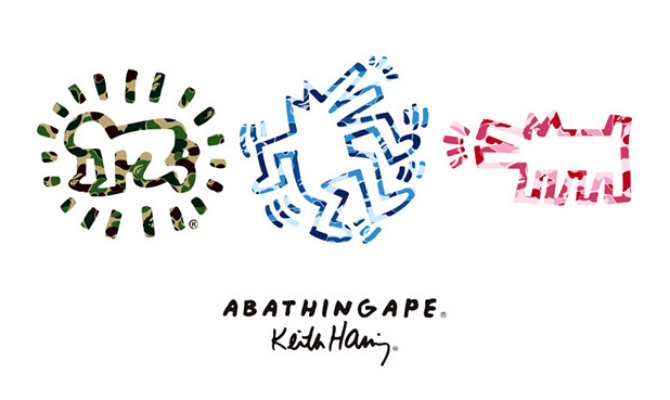 Keith Haring x A Bathing Ape Capsule Collection