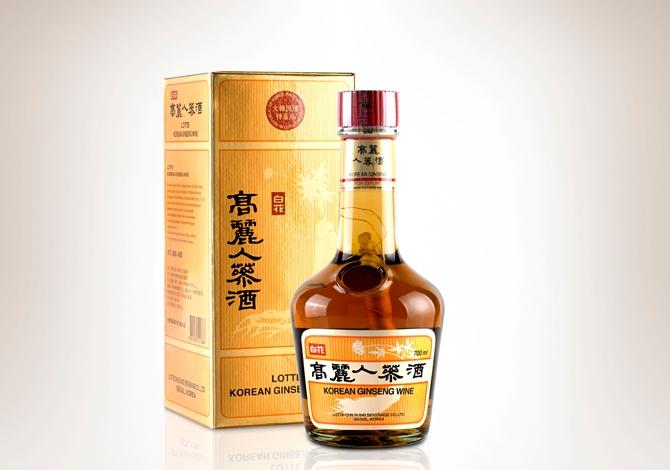 Licor Koreano Ginseng