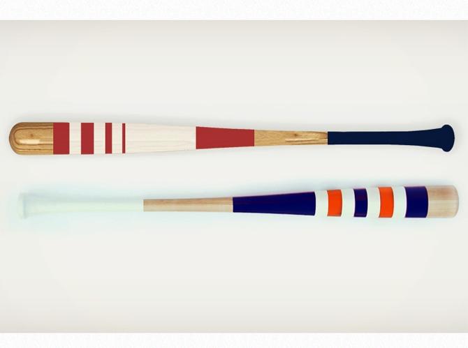 Baseball bats by Jeremy Mitchell