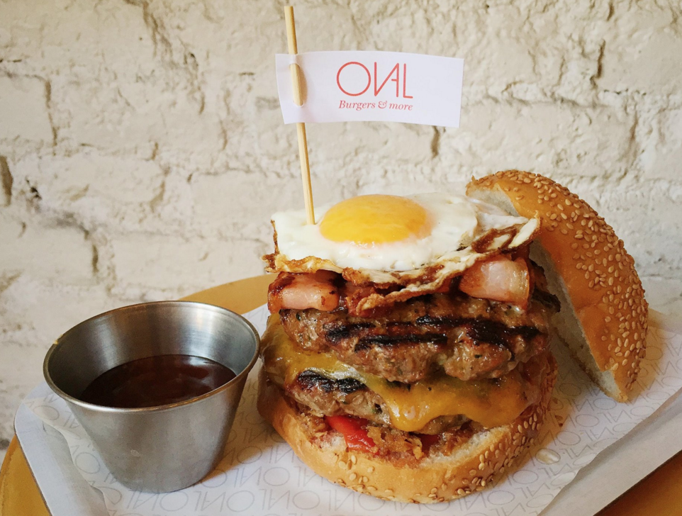 Oval, burgers & more