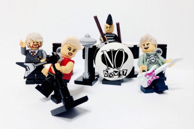 Bandas icónicas x Lego