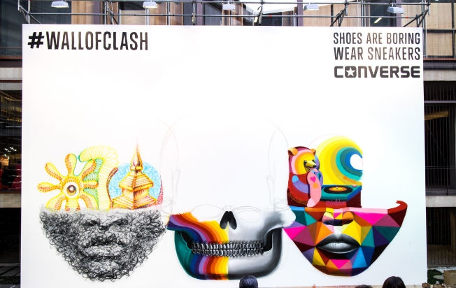 Converse #WallOfClash