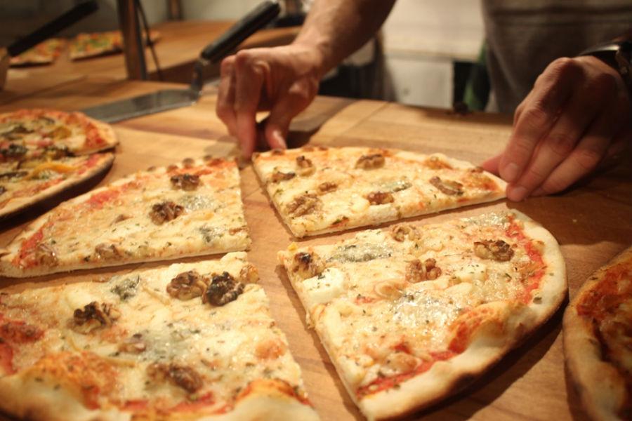 Messié Pizza, porciones gourmet en Gracia