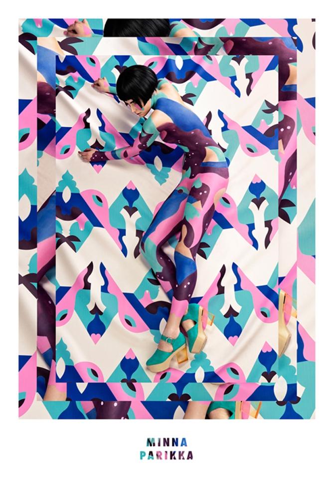 Los camuflajes visuales de Janine Rewell