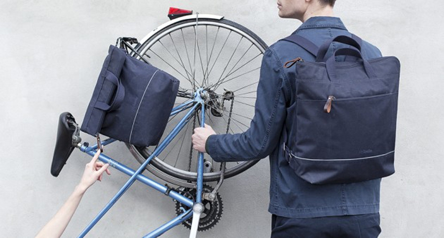 Ally Capellino y sus elegantes bolsas para bici