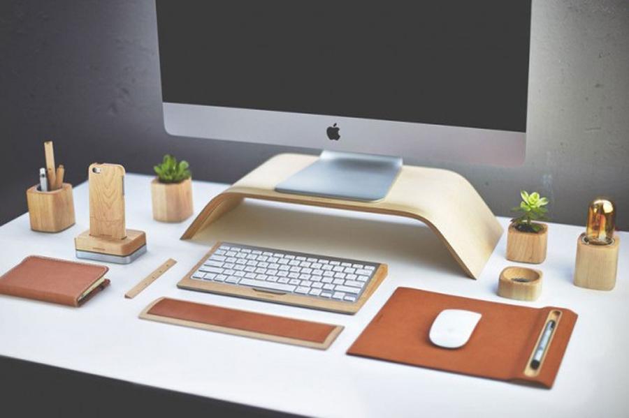 Llena de madera tu escritorio