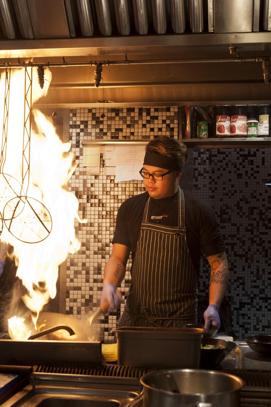 Gastronomía callejera según David Muñoz en Street-XO