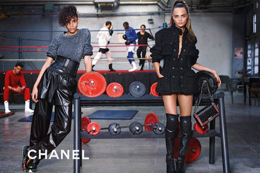 Chanel se sube al ring