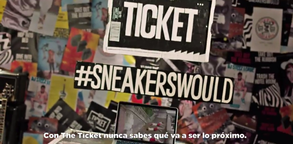 The Ticket by Converse