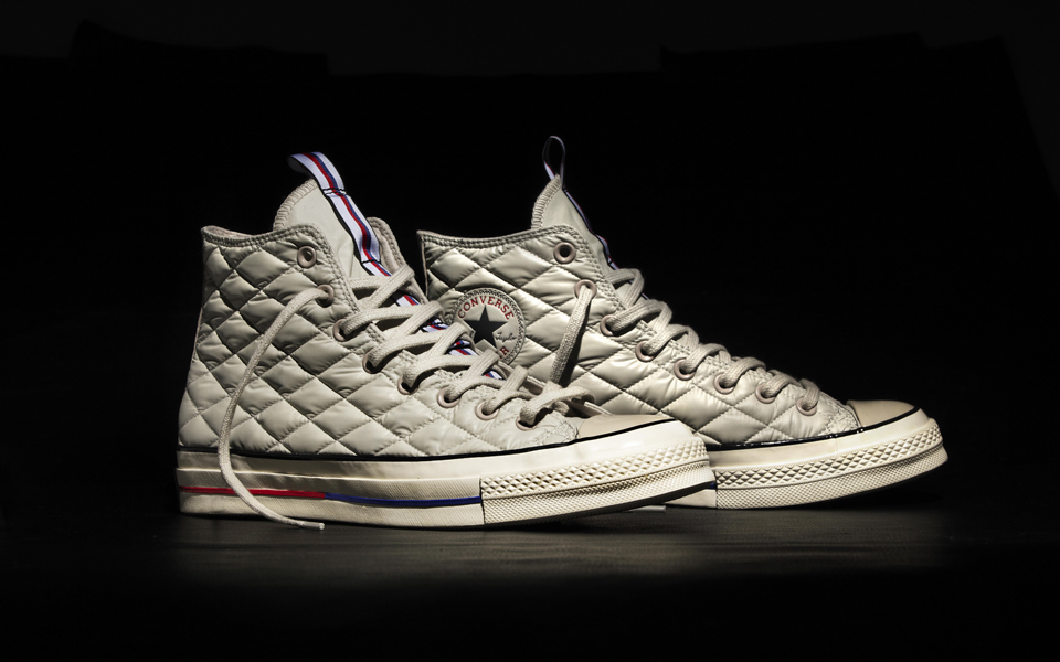 Converse All Star Chuck '70 Down Jacket White Pair
