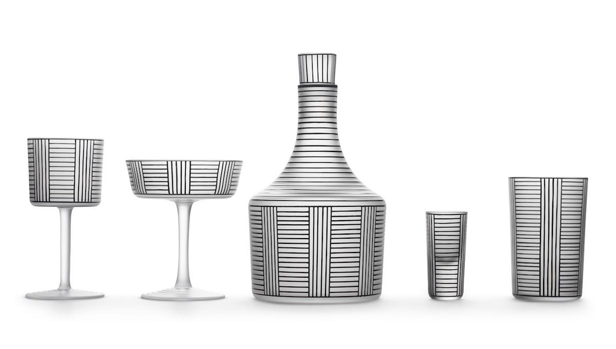 Lobmeyr reedita la colección de cristal de Josef Hoffmann