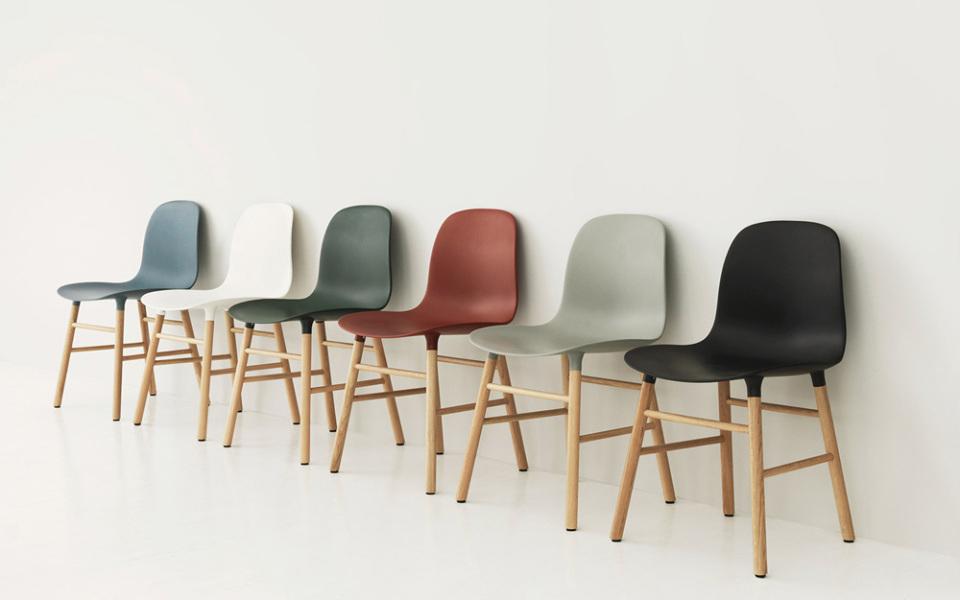 La historia de la Form Chair de Normann Copenhagen