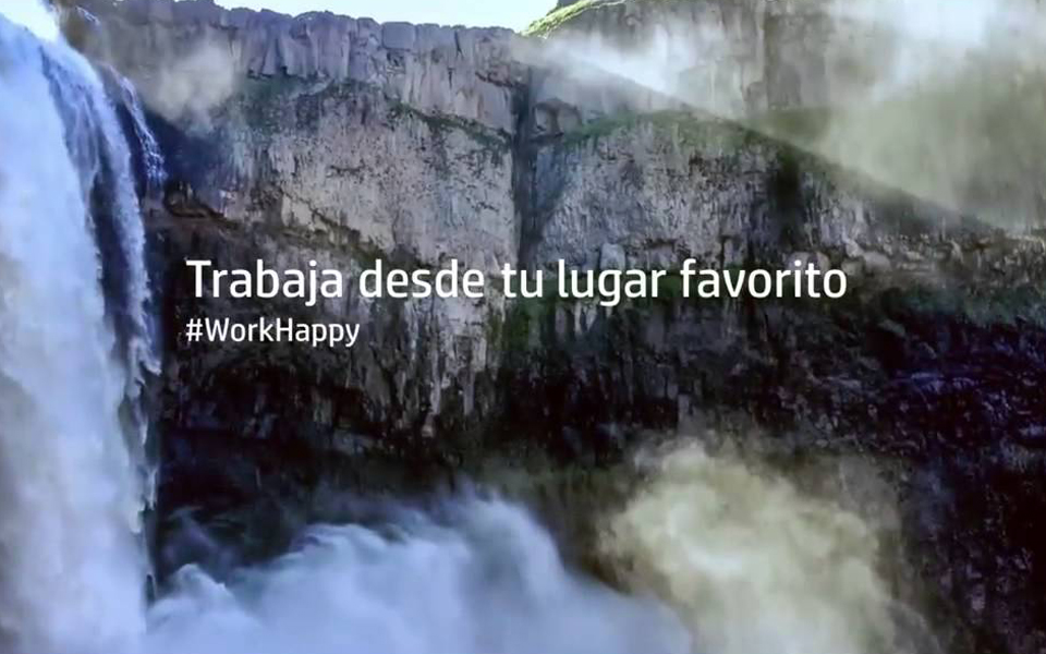 HP Stream #WorkHappy