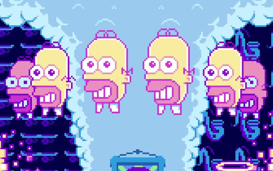 the simpson pixels