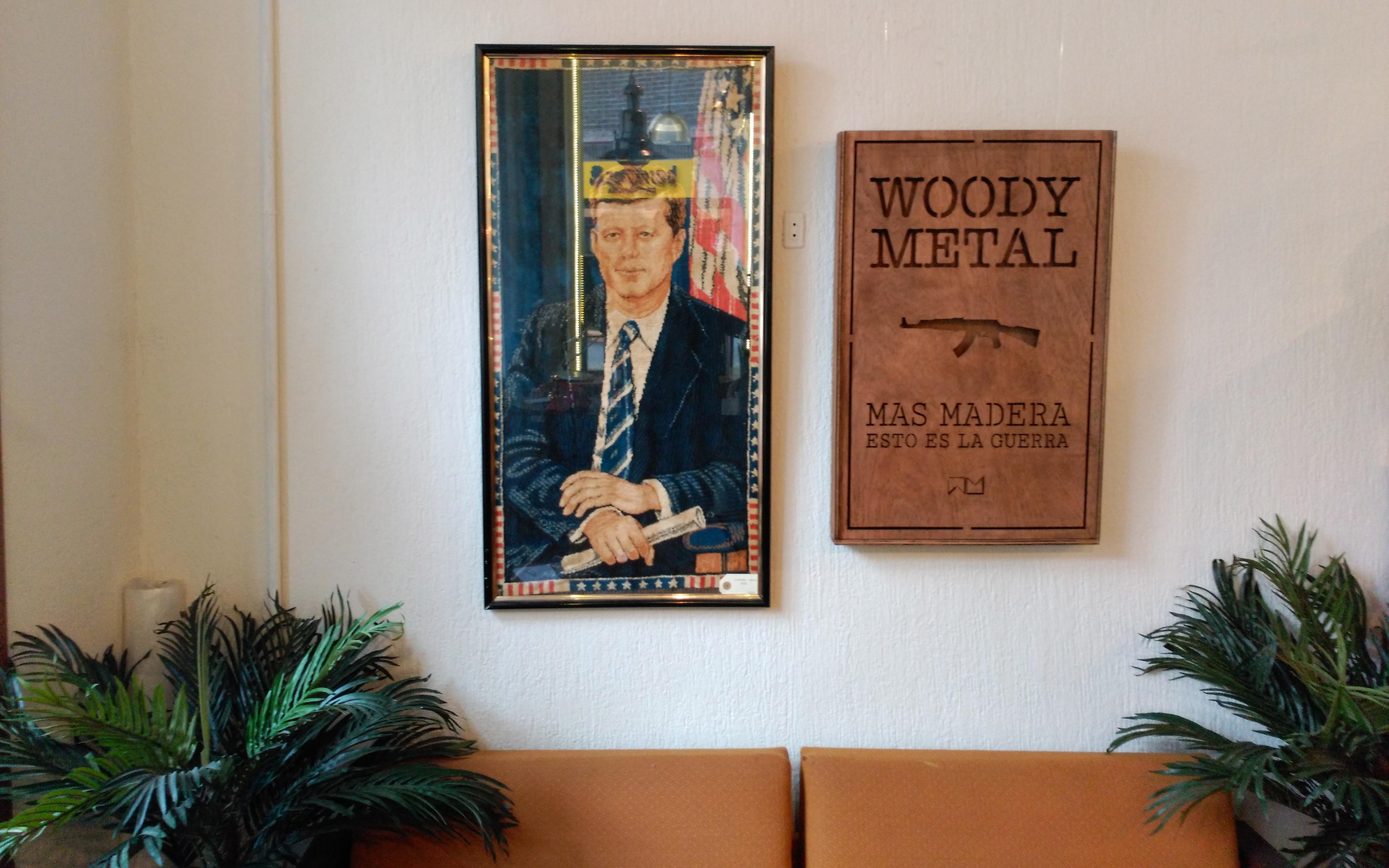 Woody Metal, sueño de una tarde de verano