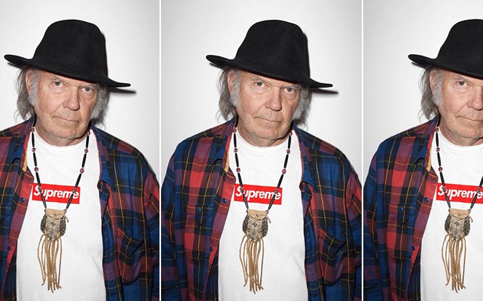 Neil Young, imagen de Supreme