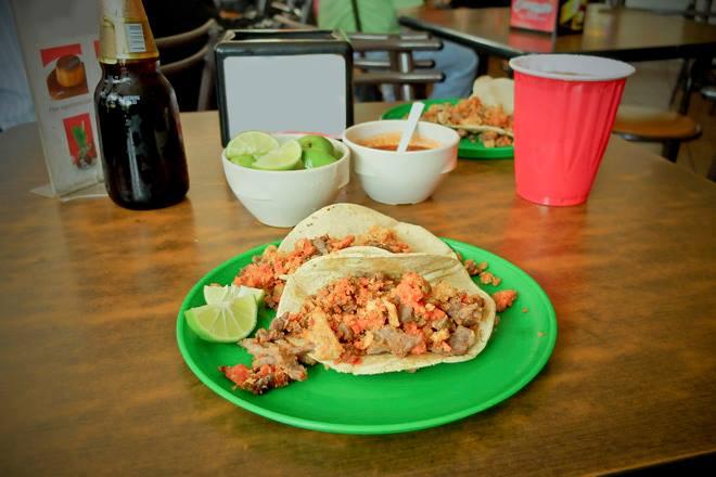 Tacos Chapultepec, Mexico auténtico