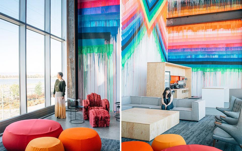 Los nuevos HQ de Facebook obra de Frank Gehry