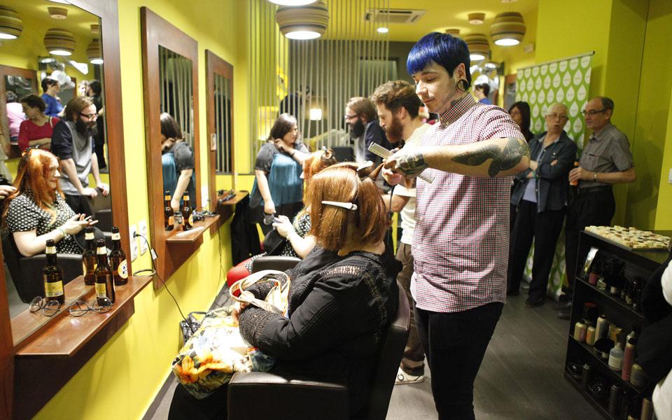 Tàctum, diez años de sabia peluquería