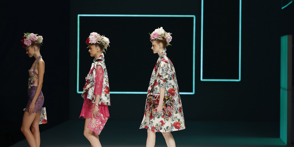Celia Vela ganadora del o8o Barcelona Fashion SS16