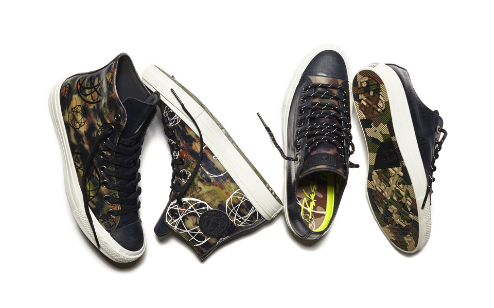 Futura customiza la Chuck Taylor All Star