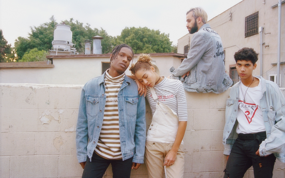 A$AP Rocky diseña colección para GUESS Originals