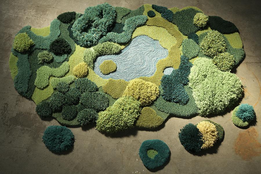 El edén textil de Alexandra Kehayoglou