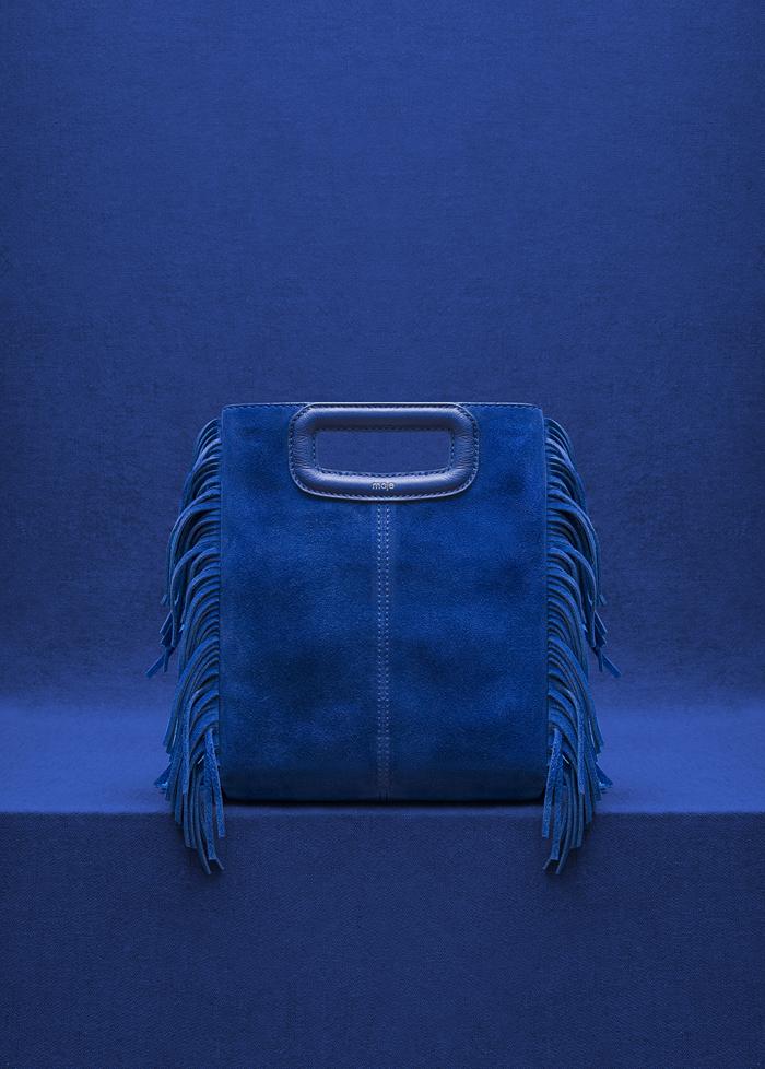 Maje M Tone on tone _Electric Blue
