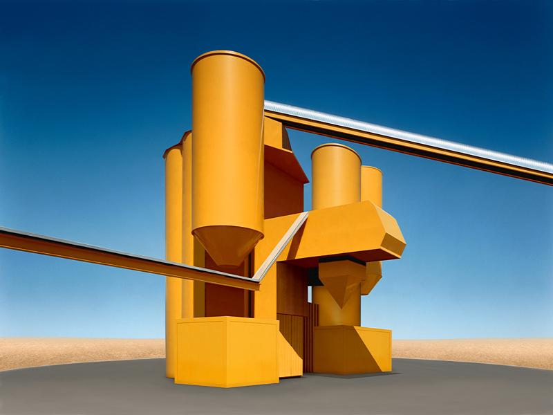 Josef Schulz, la perfecta arquitectura inventada