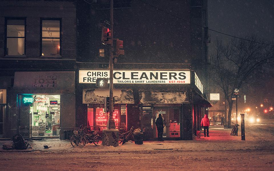 Franck Bohbot, Nueva York, el invierno, la noche…