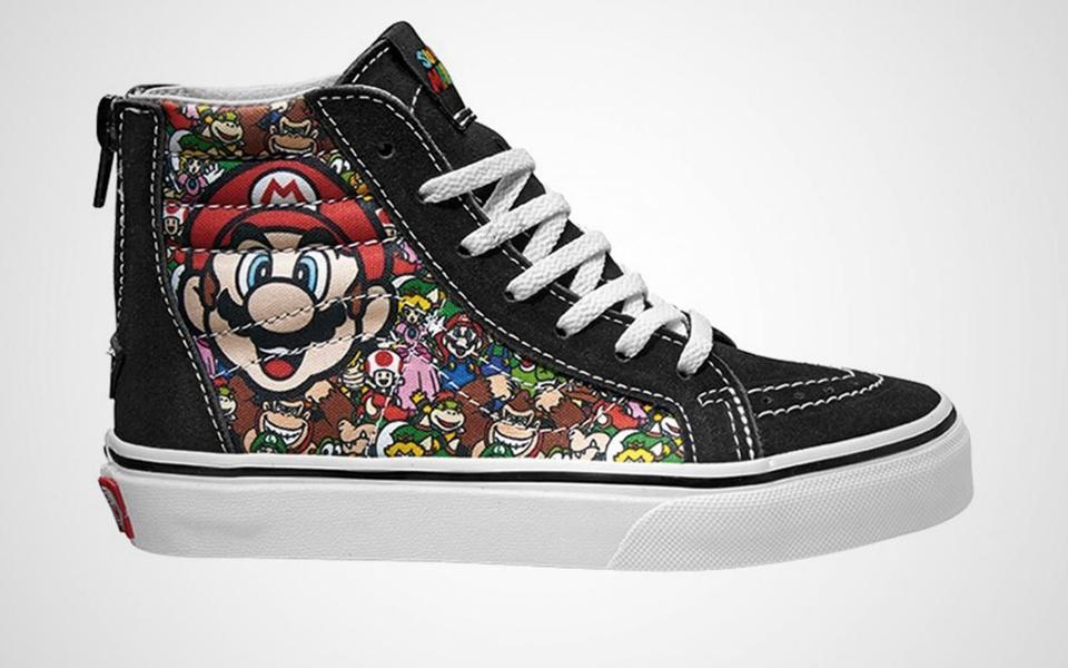Nueva colección cápsula de Vans y Nintendo