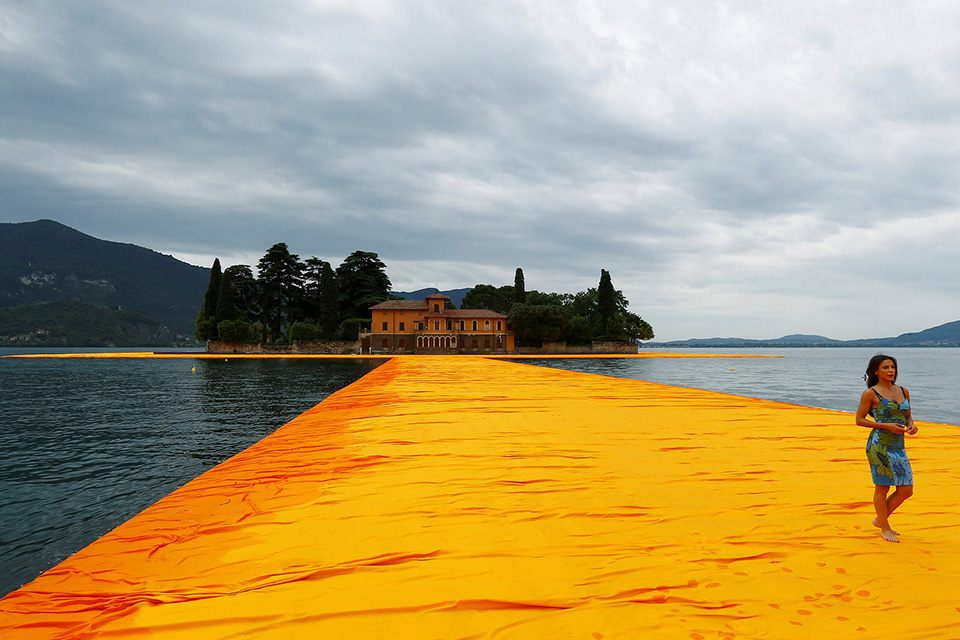 Christo y el milagro del Land Art