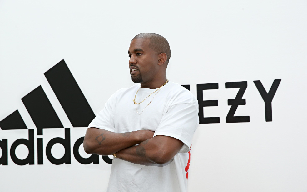 Kanye West colaborará con Adidas a largo plazo