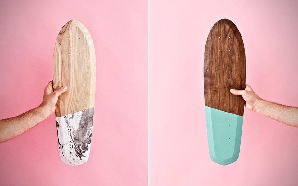 Cruiser boards con los que deslizarse por la ciudad