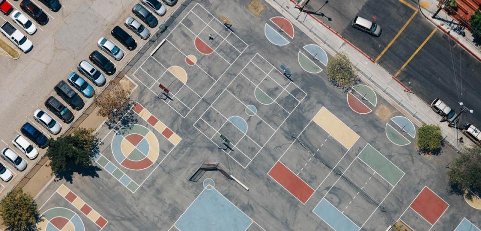 La bella geometría de los campos de juego