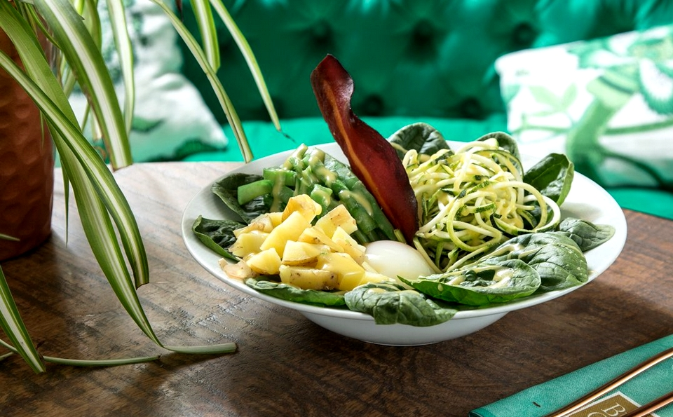 Mejores restaurantes sanos Madrid - Bump Green
