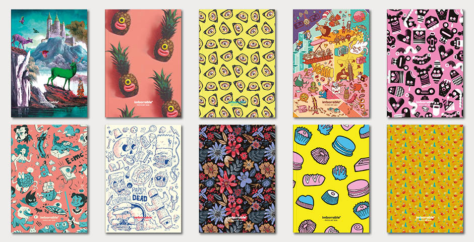 Libretas con estilo: los 'Cuadernos Arty' de Imborrable