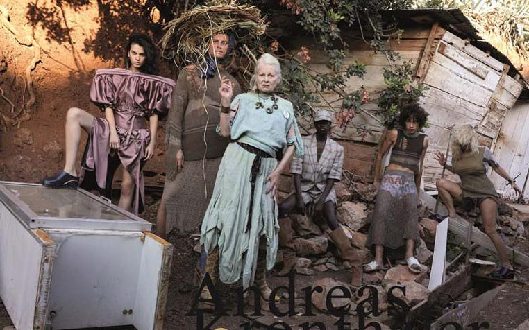 Pamela Anderson protagoniza la nueva campaña de Vivienne Westwood