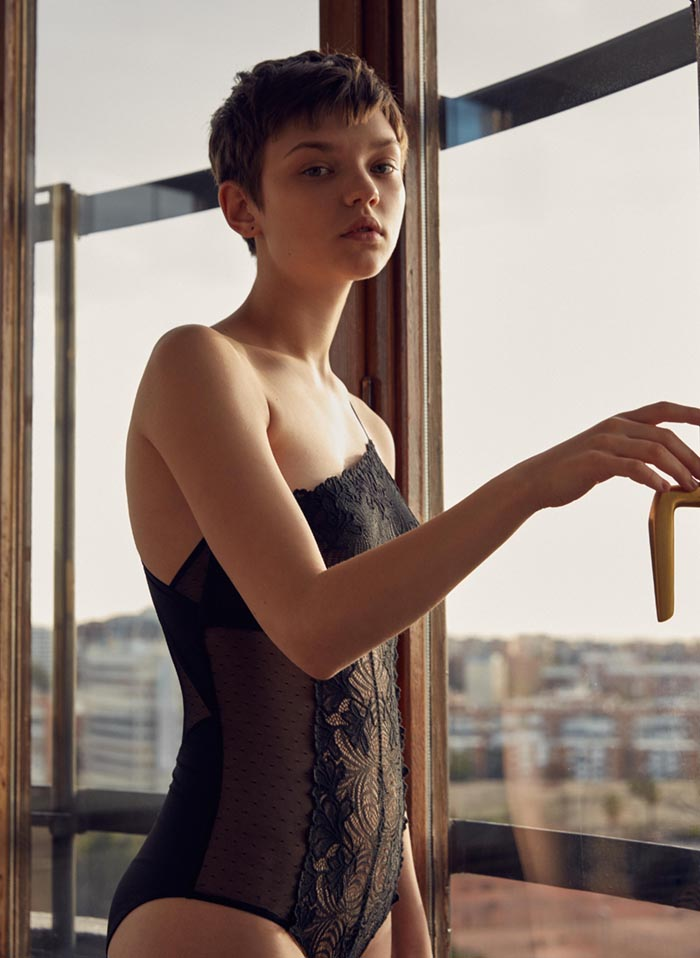 Oysho Lingerie Campaign SS17 2